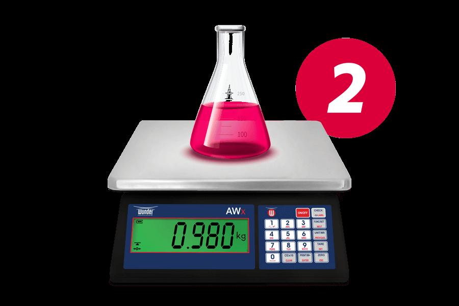 wTrade - Calc Step 2 : Prepara il composto